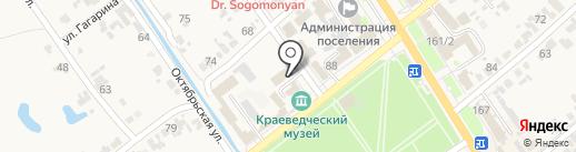 Адвокатский кабинет Вишнякова Е.Н. на карте Новокубанска