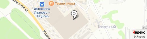 ДМ текстиль на карте Иваново