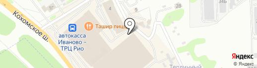 Марина на карте Иваново
