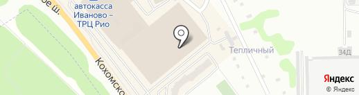 IN-ES на карте Иваново