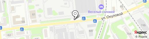 Ивановоискож, ЗАО на карте Иваново