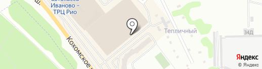 Ирбис на карте Иваново