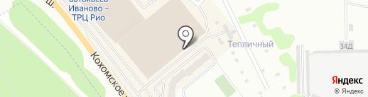 Легкий шаг на карте Иваново