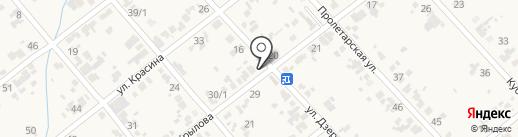 Ангастр на карте Новокубанска