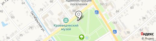 Банкомат, Банк ВТБ 24 на карте Новокубанска