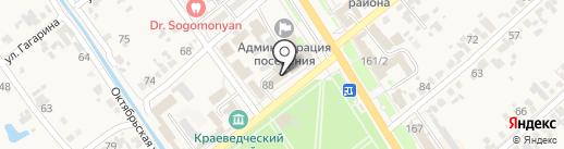 Новокубанский районный отдел на карте Новокубанска