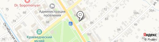 Новый стиль на карте Новокубанска