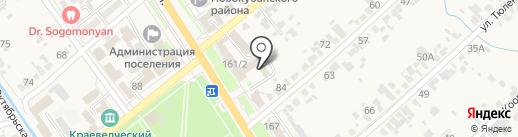 Нотариус Еленик Н.Б. на карте Новокубанска