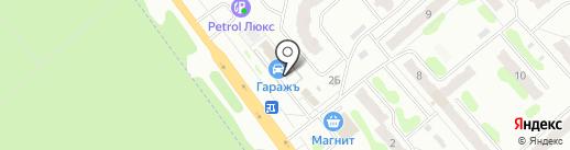 ГаражЪ на карте Иваново