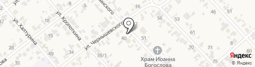 Пчелка на карте Новокубанска