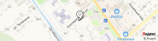 Новокубанский межрайонный отдел Краснодарской межобластной ветеринарной лаборатории на карте Новокубанска