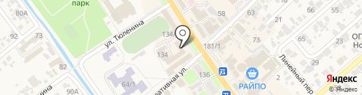 Кубань кредит на карте Новокубанска