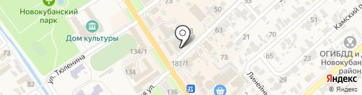 RUS Bike & Tools на карте Новокубанска