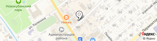 Мастерская по ремонту часов и ювелирных изделий на карте Новокубанска