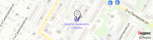 Центр лыжного спорта г. Иваново на карте Иваново