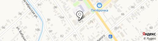 Евромост-1 на карте Новокубанска