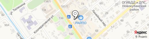 Русский фейерверк на карте Новокубанска