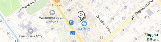 Людмила на карте Новокубанска