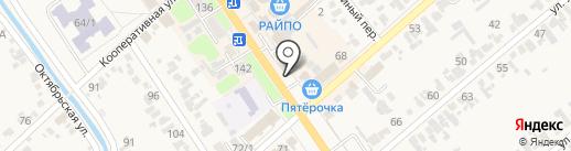 Евросеть на карте Новокубанска
