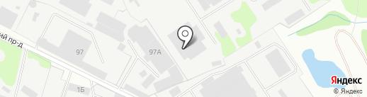 Складской комплекс на карте Иваново