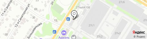Детройт на карте Иваново