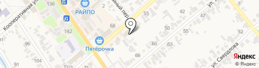 Отдел архитектуры и градостроительства муниципального образования Новокубанский район, МУП на карте Новокубанска
