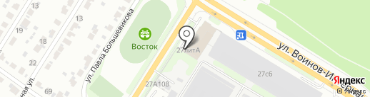 Сеон на карте Иваново
