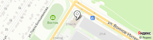 ОТК на карте Иваново