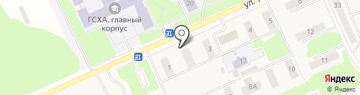 Дебют на карте Караваево