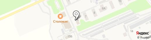 Фотостудия Анны Бочкаревой на карте Караваево