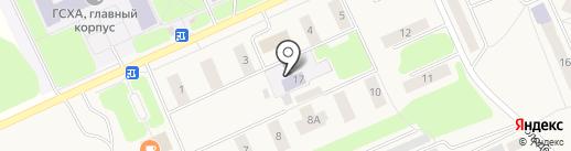 Детский сад №3 на карте Караваево