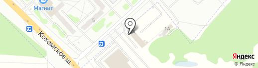 Глобус авто на карте Иваново