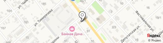 Еванг на карте Новокубанска