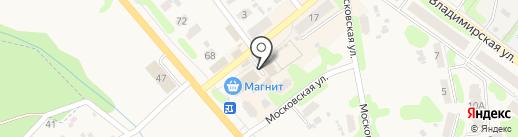 Саморез на карте Кохмы