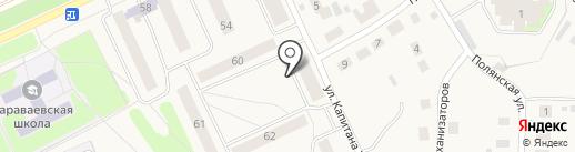 Мегаполис на карте Караваево