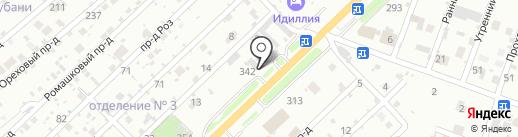 Автогарант на карте Армавира