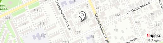 Управляющая компания №4 на карте Армавира