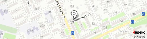 Домашняя банька на карте Армавира
