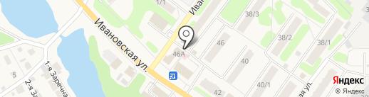 Парикмахерская на карте Кохмы