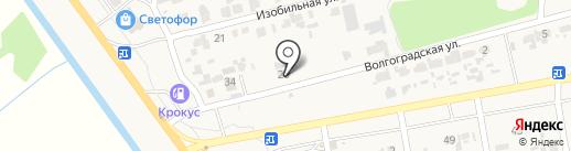 Автосервисная мастерская на карте Новокубанска