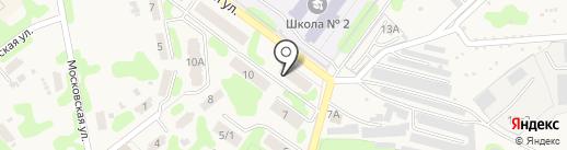Продовольственный магазин на карте Кохмы