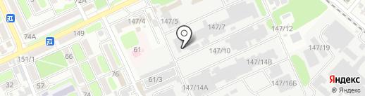 Завод испытательных приборов и оборудования на карте Армавира