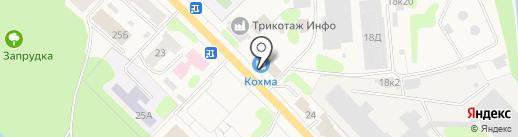 Md-Color на карте Кохмы