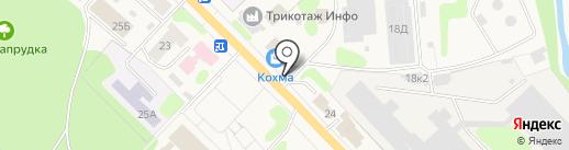Нитки37 на карте Кохмы