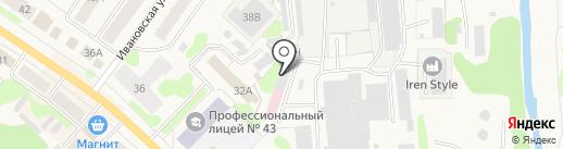 Техно-С на карте Кохмы