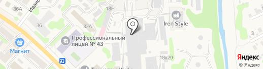 ПромА на карте Кохмы