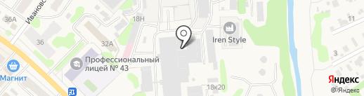 Костромички на карте Кохмы