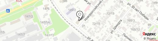 Автостекла на карте Армавира
