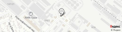 Благо на карте Армавира