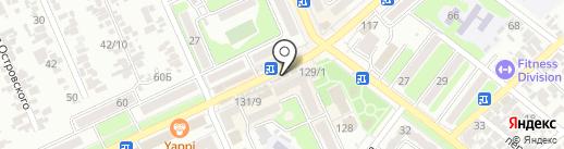 Светлана на карте Армавира